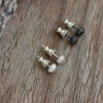 Ayelen Recycled small studs 2