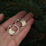 Ayelen mini Moon hoops 2