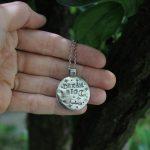 Dream big Moon medalion 3