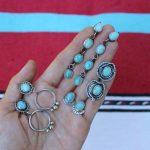 Ayelen silver drop dangle snake earrings