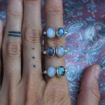 Chunky adjustable Magic rings