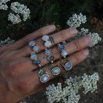 Double Rainbow Moonstone ring 3